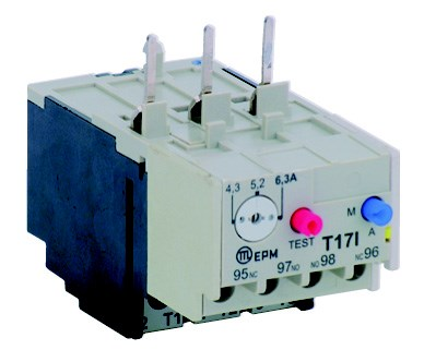T17 I 0.25A overload relay