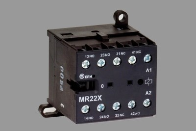 MR22X 24V DC auxiliary contactor