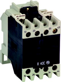 R30 220V DC D auxiliary contactor