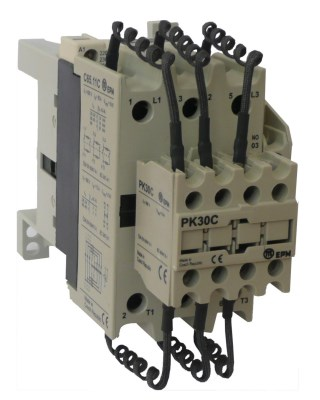 C65.11C 380-400V / 50Hz PK30C contactor for capac. banks