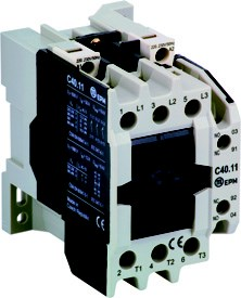 C40.10 110V DC DL 3-pole contactor