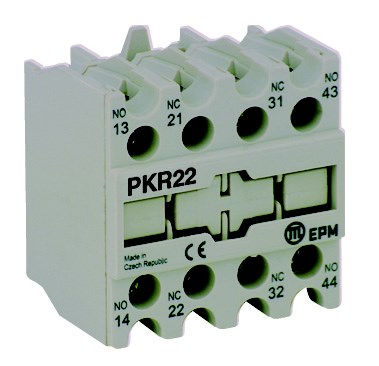 PKR40 auxiliary contact block