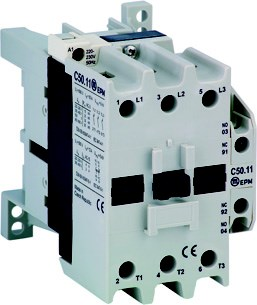 C50.10 24V DC DL 3-pole contactor